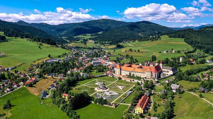 Region Murau, Steiermark - Stiftsgarten St Lambrecht