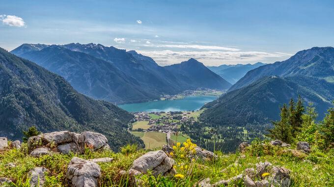 © Achensee Tourismus / Thomas Rechberger / Achensee, Tirol - Naturpark / Zum Vergrößern auf das Bild klicken