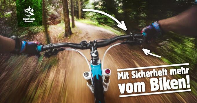 Sicher am Berg - Radfahren