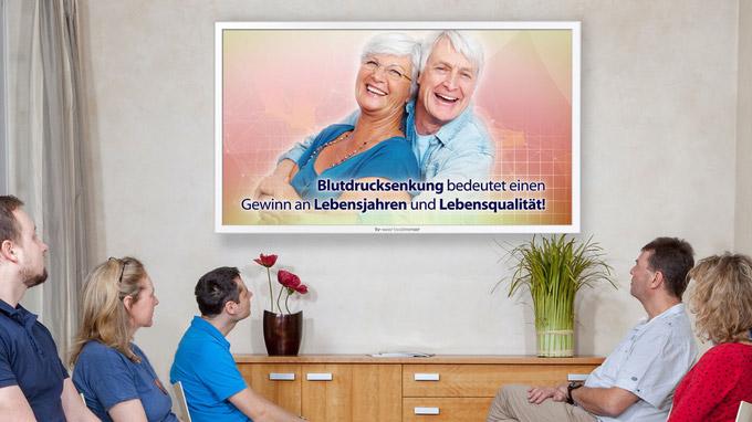 © tv-wartezimmer.de / TV-Wartezimmer - Bluthochdruck1 / Zum Vergrößern auf das Bild klicken