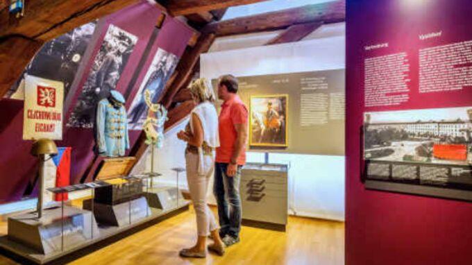 © obx-news / TVO / Tachau, Ostbayern - Heimatmuseum / Zum Vergrößern auf das Bild klicken