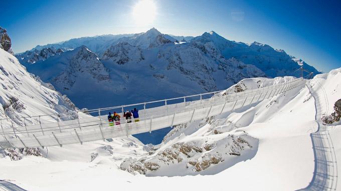 Titlis Cliff Walk, Schweiz