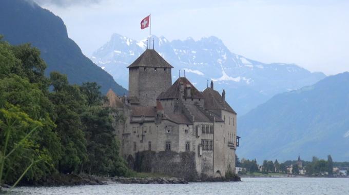 Veytaux, Waadt - Schloss Chillon GenferSee 2021