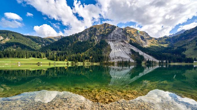 © TVB Tannheimer Tal / Achim Meurer / Tannheimer Tal, Tirol - Vilsalpsee / Zum Vergrößern auf das Bild klicken