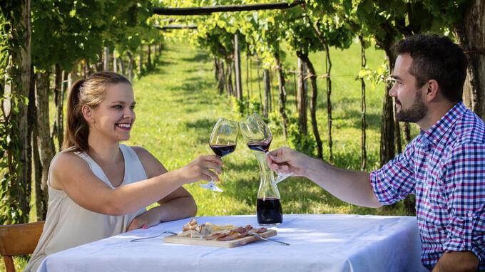 Karst, Slowenien - Wein und Küche