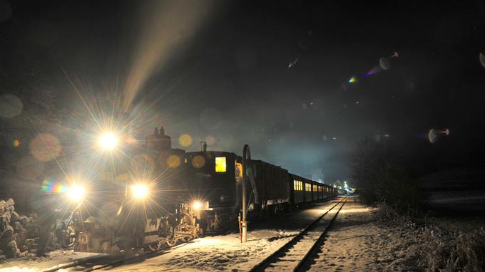 © NÖVOG / knipserl / Waldviertelbahn - Silvesterzug / Zum Vergrößern auf das Bild klicken
