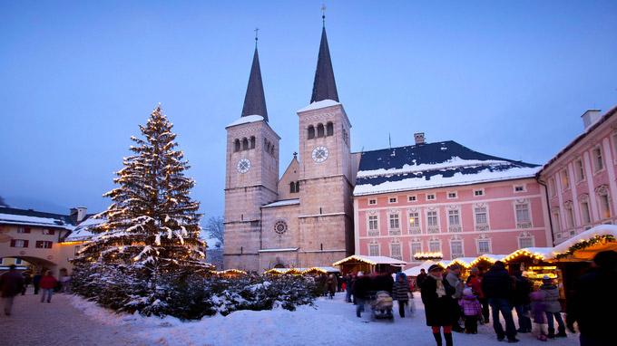 © BGLT / Berchtesgaden, Bayern - Schloss / Zum Vergrößern auf das Bild klicken