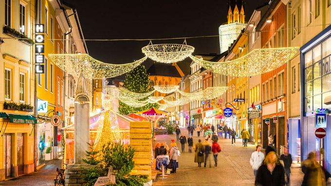 © Region Villach Tourismus / Weihnachtsmarkt Villach / Zum Vergrößern auf das Bild klicken