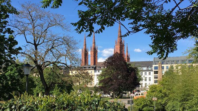 © Edith Spitzer, Wien / Wiesbaden, DE - Park / Zum Vergrößern auf das Bild klicken