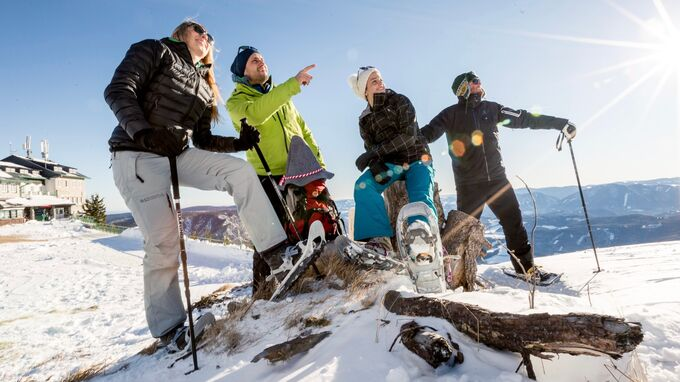 Raxalpen Plateau, NÖ - Schneeschuhwandern