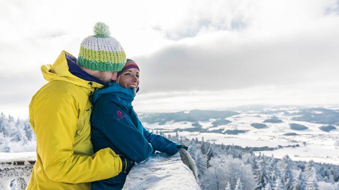 © OÖ Tourismus / davidlugmayr.at / Mühlviertel, OÖ - Winter / Zum Vergrößern auf das Bild klicken