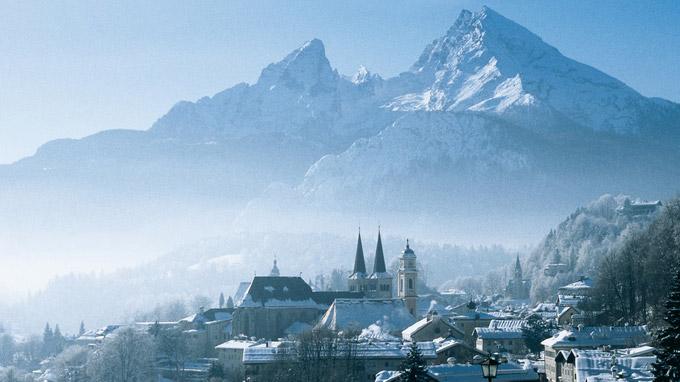 © Berchtesgadener Land Tourismus / Wendt / Berchtesgadener Land, Bayern - Watzmann / Zum Vergrößern auf das Bild klicken