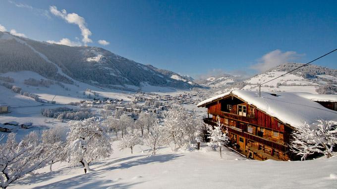 © Wildschönau Tourismus / T. Trinkl / Wildschönau, Tirol - Winterlandschaft / Zum Vergrößern auf das Bild klicken
