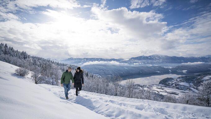Millstätter See, Kärnten - Winterwandern