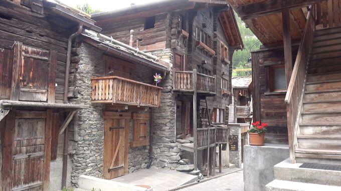 Zermatt, Wallis - Altstadt 2021