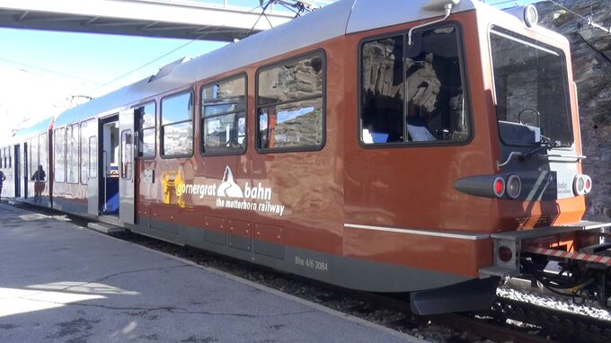 Zermatt, Wallis - Gornergratbahn 2021