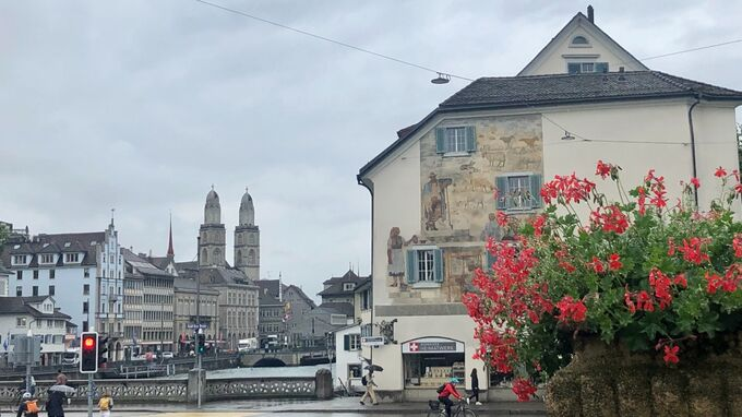 Zürich, CH - Kirche 2021