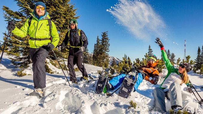 © Arthur Michalek / Raxalpe, NÖ - Schneeschuhwandern / Zum Vergrößern auf das Bild klicken