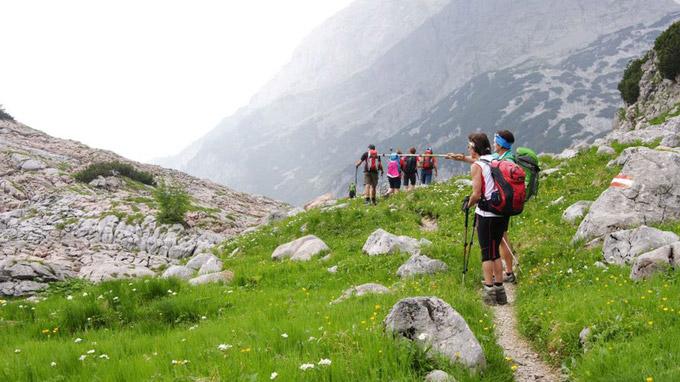 © Petra Astner / Stoabergmarsch24 - Tirol-Salzburg / Zum Vergrößern auf das Bild klicken