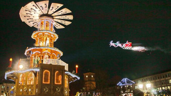 Weihnachtsmann Karlsruhe