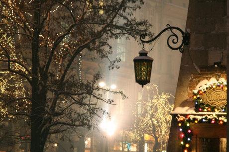 Christbaumkugeln Polen.Weihnachtsmarkt In Krakau Polen