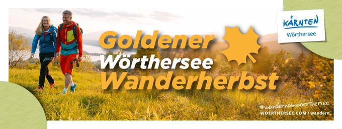 © Wörthersee Tourismus / Wörthersee Tourismus - Sujet Wandern / Zum Vergrößern auf das Bild klicken
