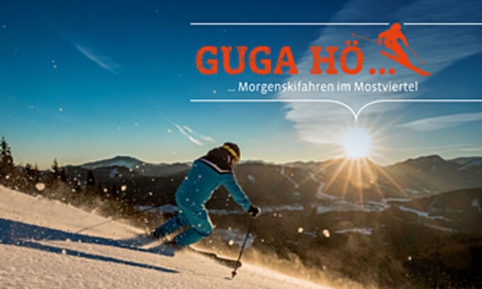 © Fred Lindmoser / Logo Guga hö / Zum Vergrößern auf das Bild klicken