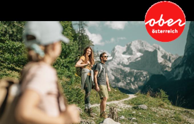 © Oberösterreich Tourismus GmbH / Herbstwandern in OÖ - Sujet / Zum Vergrößern auf das Bild klicken