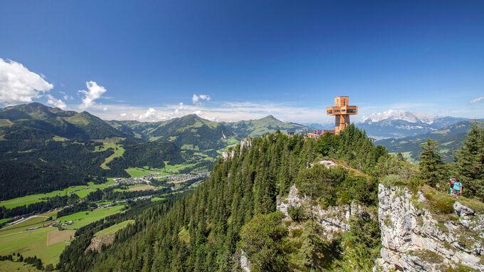© Bergbahn Pillersee / Andreas Langreiter / Pillerseetal, Tirol - Jakobskreuz Buchensteinwand / Zum Vergrößern auf das Bild klicken