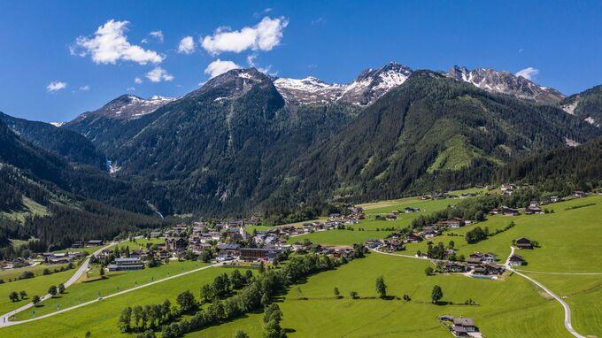 Krimml, Salzburg - Ortsansicht