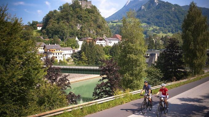 © OÖ Tourismus / Erber / Steyr und die Nationalpark Region, OÖ - Ennstalradweg / Zum Vergrößern auf das Bild klicken