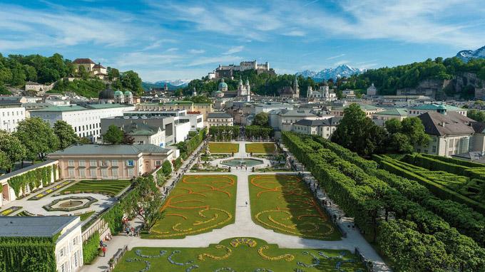 © Tourismus Salzburg / Günter Breitegger / Salzburg, Österreich - Mirabellgarten / Zum Vergrößern auf das Bild klicken