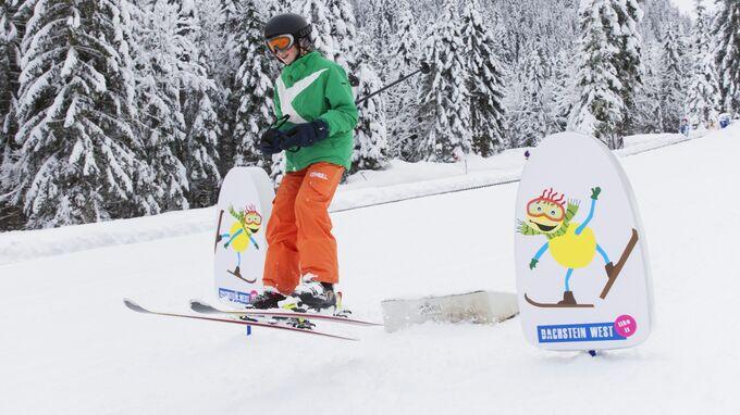Dachstein West, Steiermark - Sprungschanze für Kinder