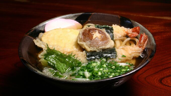 Setouchi, Japan - Udon Noodles for New Year