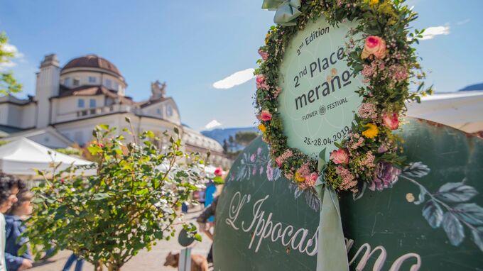 Meran, Südtirol - Flower Festival