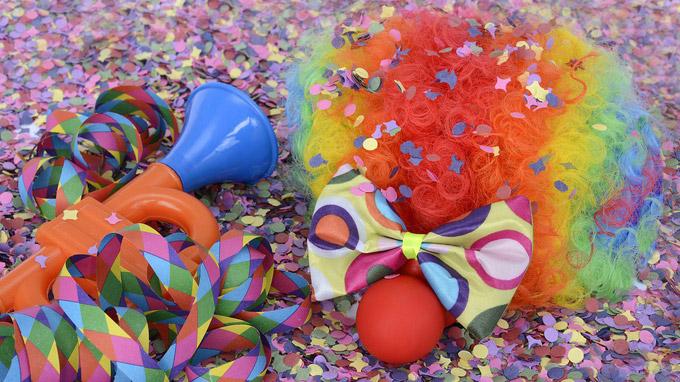 © pixabay / Karnevalsequipment / Zum Vergrößern auf das Bild klicken