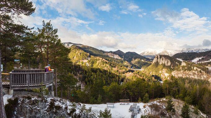 Wiener Alpen, NÖ - Winterwandern Semmering