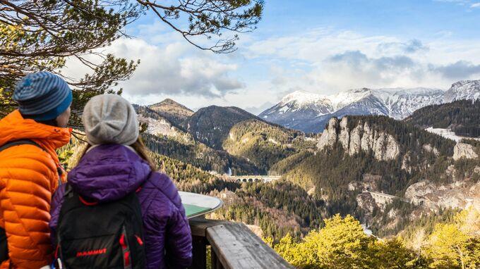 Semmering, NÖ - Winterwandern