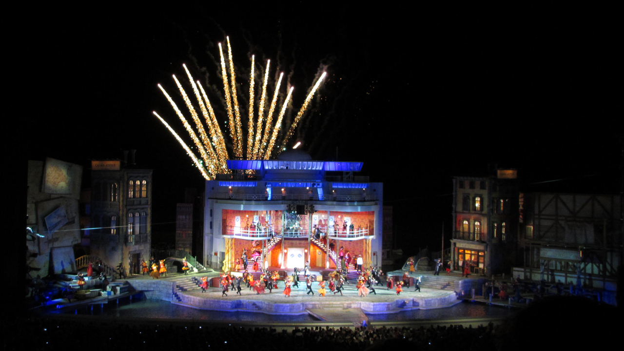 Eine Nacht In Venedig Auf Den Seebühne Mörbisch