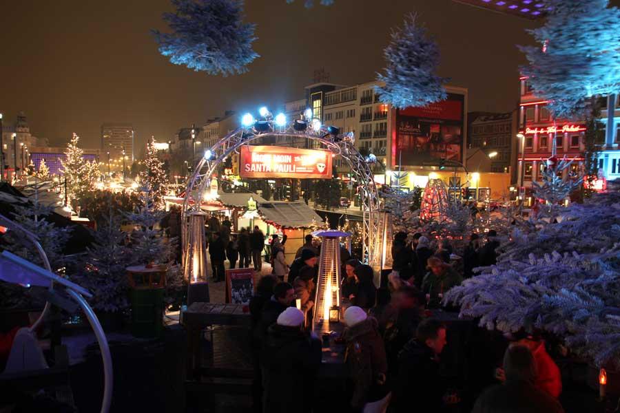 St Pauli Weihnachtsmarkt öffnungszeiten.Santa Pauli Weihnachtsmarkt Auf Der Reeperbahn In Hamburg