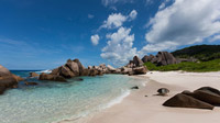 © SeyVillas / La Digue, Seychellen - Anse Marron / Zum Vergrößern auf das Bild klicken
