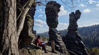 Sächsische Schweiz, Sachsen - Herkulessäulen