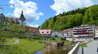© Rick Eichner / Bad Herrenalb, Baden-Württemberg - Kurpark / Zum Vergrößern auf das Bild klicken