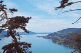© Tourismusverband der Ferienregion Attersee-Salzkammergut / Blick vom Schoberstein auf den Attersee / Zum Vergrößern auf das Bild klicken