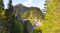 © Prättigau Tourismus / Prättigau, CH - Salginatobelbrücke / Zum Vergrößern auf das Bild klicken