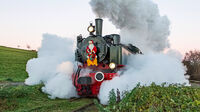 © Ulrich Reinecke / Brohl-Lützing, Rheinland-Pfalz - Nikolausfahrt / Zum Vergrößern auf das Bild klicken