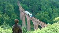 © Tourist-Information Emmelshausen / Thomas Biersch / Hunsrück, Rheinland-Pfalz - Hubertusviadukt / Zum Vergrößern auf das Bild klicken