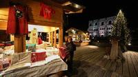 © Aosta / Enrico Romanzi / Aosta, Italien - Marché Vert Noël / Zum Vergrößern auf das Bild klicken