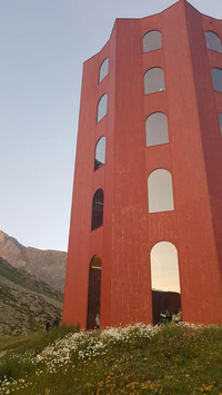 © Charles E. Ritterband / St. Moritz, CH - Julier-Turm / Zum Vergrößern auf das Bild klicken