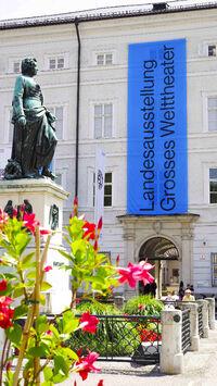 © Salzburger Museum / Melanie Wressnigg / Großes Welttheater, Salzburg - Salzburg Museum / Zum Vergrößern auf das Bild klicken